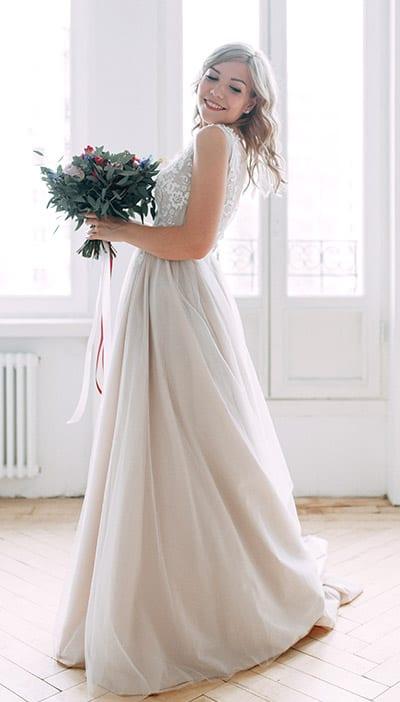 abito da sposa romantico collezione sposa 2020