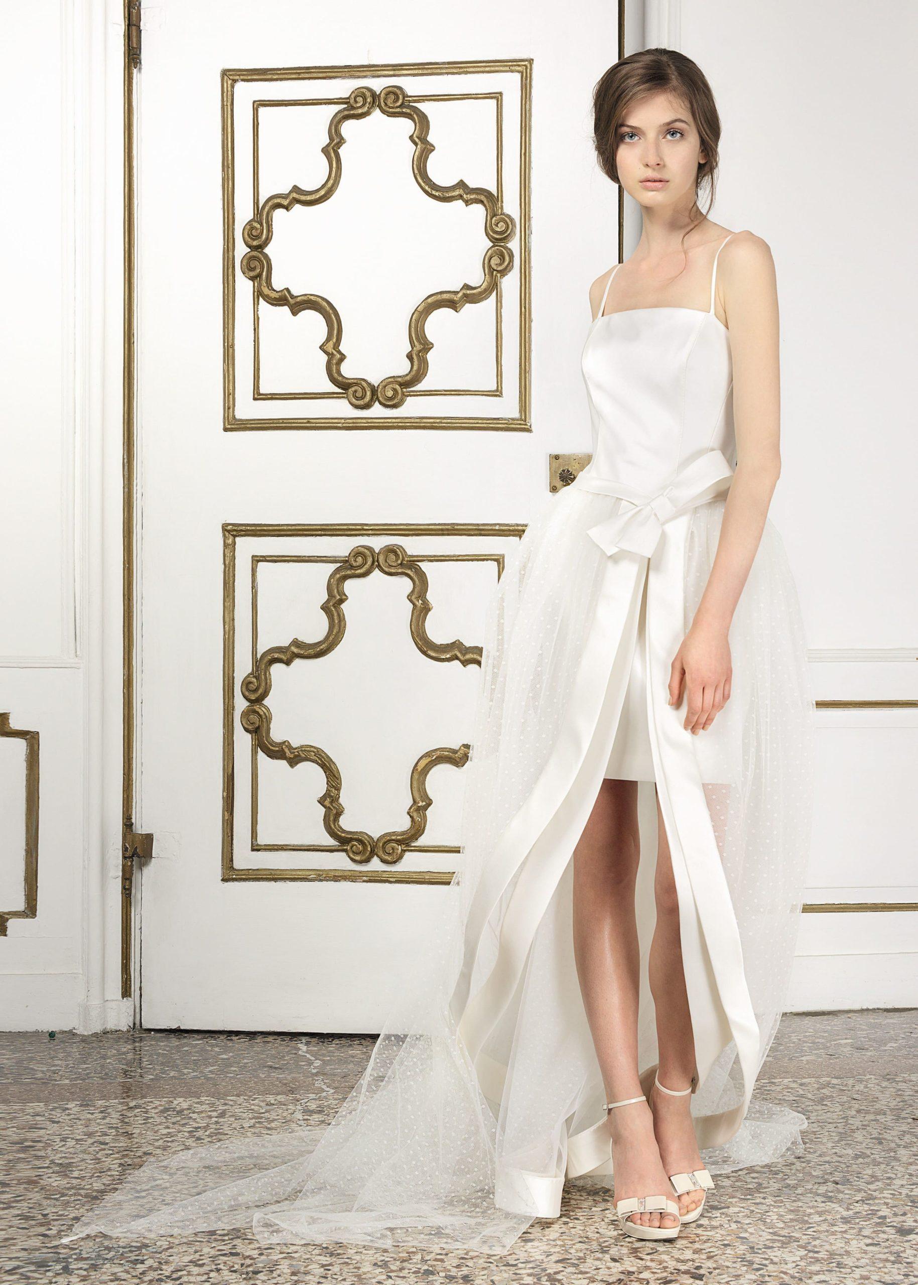 Abiti Da Sposa In Comune.Courthouse Wedding Dresses Marialuisa Benetti Bridal Venice Italy